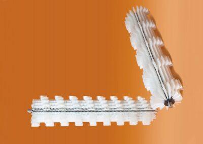 Cepillos transporte y manipula de piezas